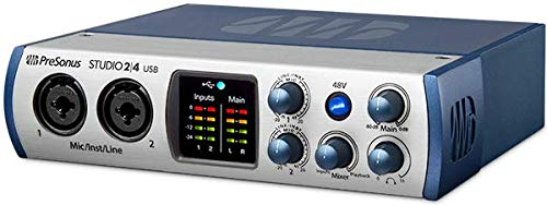 Presonus Audio Interface 2|4 2x2, 192 kHz, USB-C Audio Interface