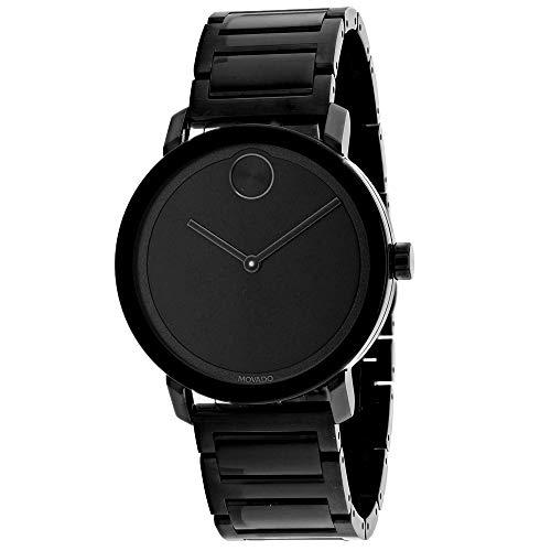 Movado Men's Bold Black Dial Watch - 3600538