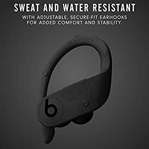 Powerbeats Pro Wireless Earbuds - Apple H1 Headphone Chip, Class 1 Bluetooth Headphones, 9 Hours of Listening Time, Sweat Resistant, Built-in Microphone - Black