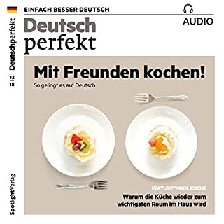 Couverture de Deutsch perfekt Audio. 12/2018