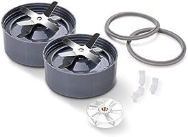 Sapcentrifuge accessoireset voor NutriBullet 900W/600W, metalen kruisblad, schokdemper accessoires, afdichting,...