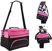 Hairdressing Tools Storage Carrying Case, Hairdresser Designer Session Bag Large Mobile Hair Salon Kit Holder