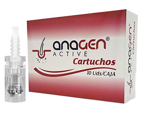 Agujas DermaPen Cartucho ajustable para Derma Electric microneedling pen 36 agujas (10 unidades)