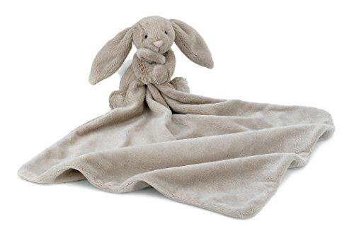 Jellycat Bashful Beige Bunny Baby Stuffed Animal Security Blanket