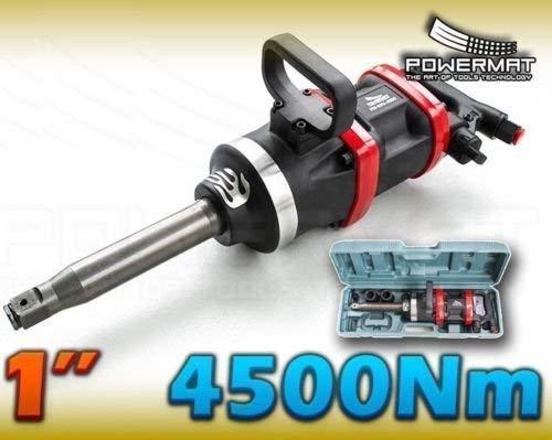 Professionele slagschroevendraaier 4500 Nm aandrijving 1 inch persluchtschroevendraaier gewicht 22 kg