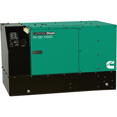Cummins Onan Quiet Series Diesel RV Generator - 10 kW, Model# 10HDKCA-11506