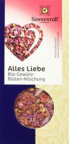 Sonnentor Alles Liebe Gewürz-Blüten-Mischung, 1er Pack (1 x 40 g) - Bio