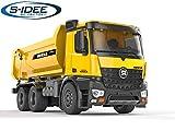 s-idee S1582 Rc Dump Truck Vollmetall 1:14 LKW 10 Kanal Kipplader Huina 1582