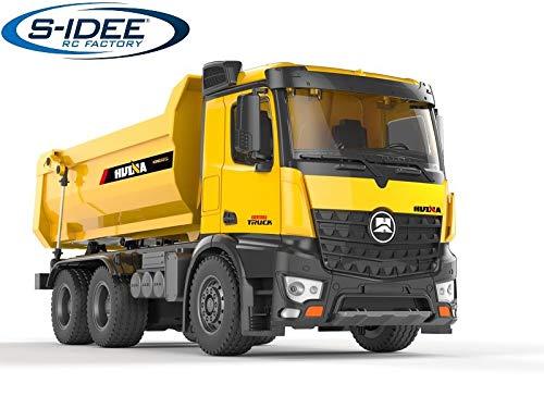 s-idee® S1582 Rc Dump Truck Vollmetall 1:14 LKW 10 Kanal Kipplader Huina 1582
