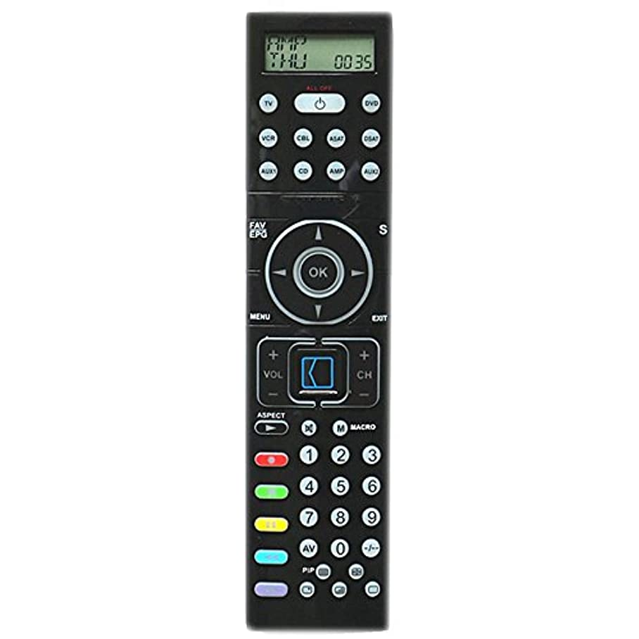 Universal Remote Control Fit for SILVERCREST KH2157 With Back Light And LED TV/DVD/VCR/CBL/ASAT/DSAT/AUX1/CD/AMP/AUX2 (1pc) f657963500