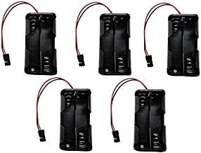 Apex RC Products 4 Cell 4.8V AA Battery Holder W/ JR Style Connector Receiver Battery Pack - 5 Pack 2931