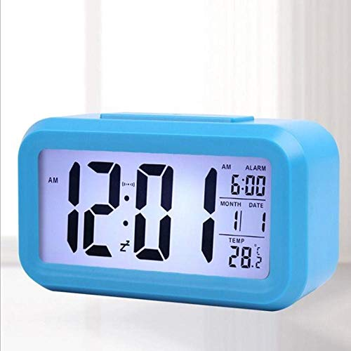 hlyhly Digitale wekker, creatieve wekker, simpel, fashion electronic klok luminous Bedside Clock Multifunctioneel Desk Clock