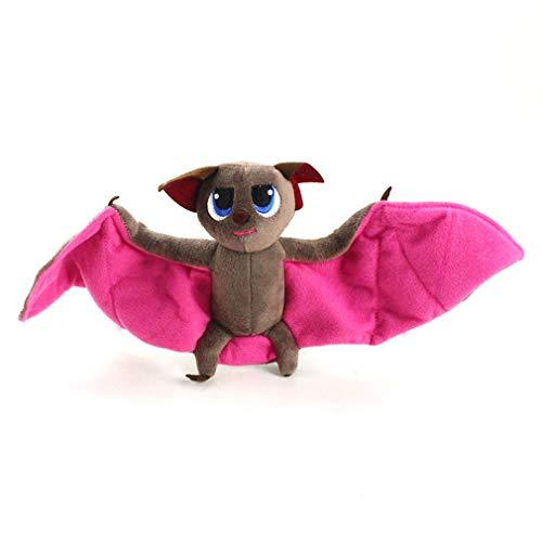 1 set vleermuis pluche pop knuffel vampier getransformeerd in vleermuis pluche pop creatief speelgoed kinderen sport vleermuis pluche pop speelgoed - bruin roze