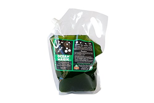 OceanMagik Live Phytoplankton Blend - Tetra x Nanno x Iso x Thal Phyto Food for Coral and Copepod (64oz)