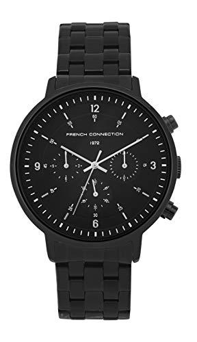 French Connection Quarz Uhr mit Edelstahl Armband FC140BBM