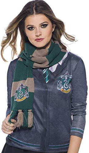 Harry Potter Deluxe Bufanda Slytherin, Multicolor, (Rubie'S...