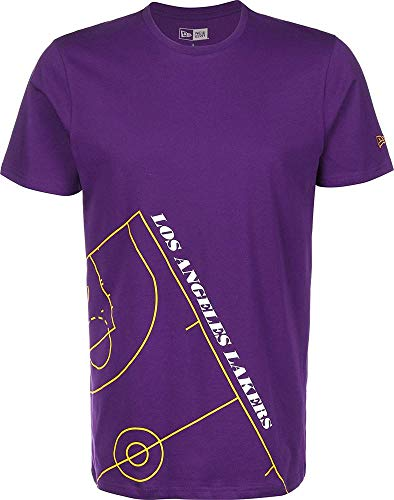 New Era NBA Court Los Angeles Lakers T-Shirt trp