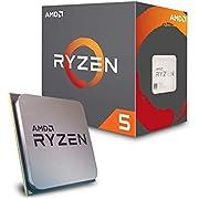 AMD Ryzen 52600X, Processore 6 - Core 19MB, Cache 95W, Wraith spire Cooler,Nero