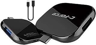 【国内正規代理店K-ONE.】C-Force USB Type-C 3.1 HDMI 4K マルチ ポーダブル ドック Nintendo Switch Dex iPad Mac Book Galaxy (CF008)