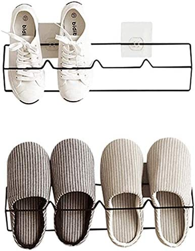 Esdella New mail order Shoes Rack Organizer Wall Storage Hol Shelf Shoe Mounted Excellence