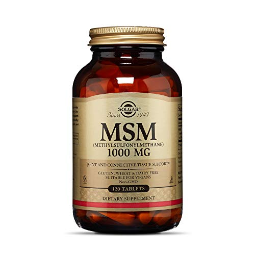Solgar MSM 1000 mg Tablettes, 120