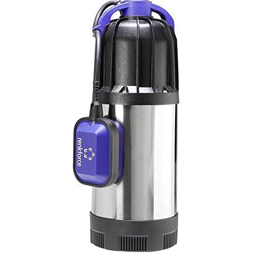 Renkforce 1519501 Tauchdruck-Pumpe mit Schutzkontaktstecker 6500 l/h 30 m