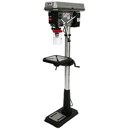 Great Features Of JET J-2500 15-Inch 3/4-Horsepower 115-Volt Floor Model Drill Press