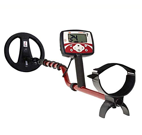 Best Bargain ZXH Underground Metal Detector, 1.22M-1.42M Underground Gold Digger LCD Analogue Displa...