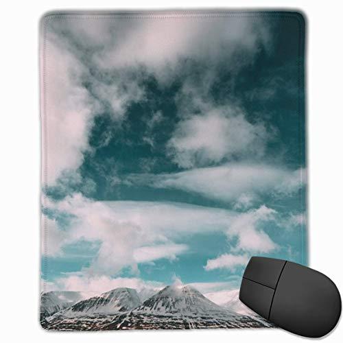 Mountains Clouds Sky-67Anti-Rutsch-Mauspad, rechteckig, Gummi, 30 x 25 cm