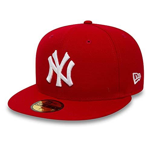 New Era York Yankees 59fifty Cap MLB Basic Red/White - 7 1/8-57cm