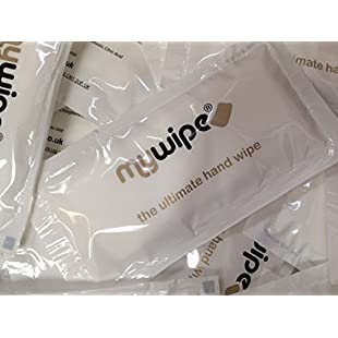 MYWIPE Ultimate Large Freshen Up Refreshing Lemon Wet Hot or Cold Hand Wipes Towels Catering & Restaurant - Case of 500