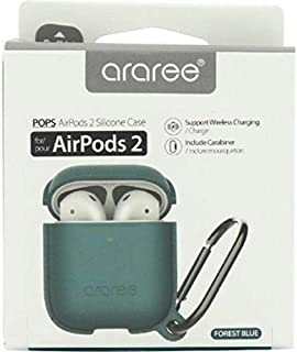 Araree POPS Headset Case, for (Apple) AirPods, Forest Blue