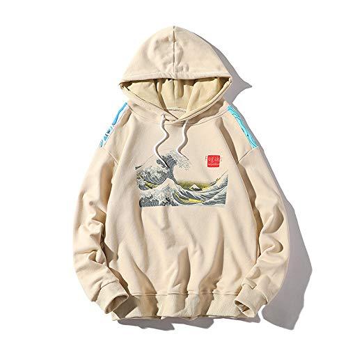 Bestickte Kapuzenpullis Surfen Dünne Kapuzenpullis Sweatshirts 2020 Harajuku Hip Hop Lässige Pullover Hoodie Top