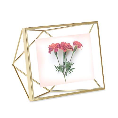 Umbra Prisma Marco de fotos, Mattgold, 10.16 cm x 15.2 cm