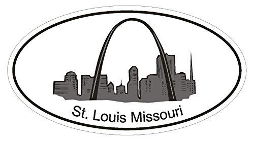 Set of 3 - St Louis Missouri Oval Gateway Arch