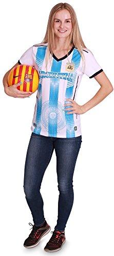Women's Argentina World Cup 2018 Soccer Jersey, Women Size S/M