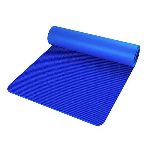 Esterilla Yoga Colchoneta, Alfombrilla de Entrenamiento Antideslizante 183cm * 61*1cm para Pilates Yoga Ejercicio Meditación Fitness con Bolsa de Almacenamiento