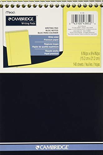 Cambridge 43852 Writing Pads 140 Sheet 6'x9'