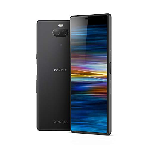Sony Xperia 10 6 Inch 21:9 Full HD+ display Android 9 UK SIM-Free Smartphone with 3GB RAM and 64GB Storage - Black
