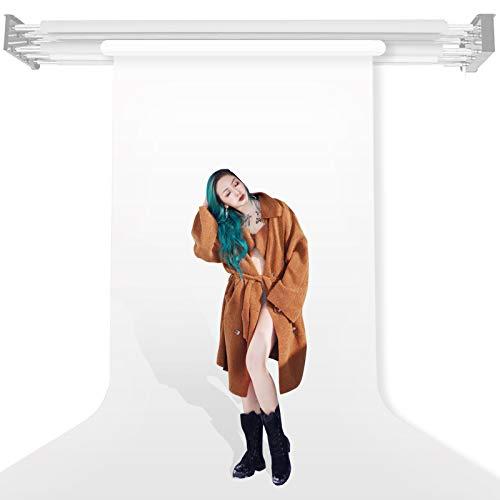 Hintergrund Fotografie Papier Papierhintergrund 1,35x10m Photo Backdrop Paper Roll, ideal für Fotografie, Video, Portrait, für Hintergrundsystem, Fotohintergrund, Studiobedarf