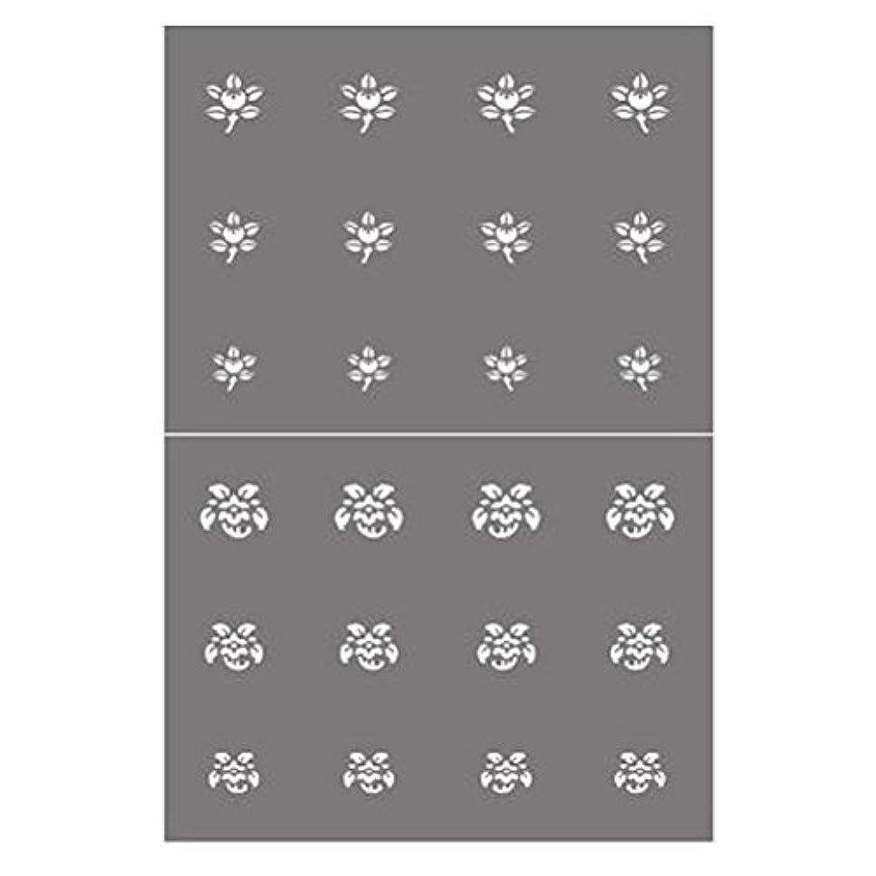 ドループ雪だるまを作るオセアニアステンシル NSK-66