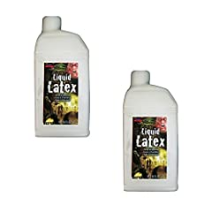 All-Natural, Made from the Rubber Tree; Cruelty-Free Liquid Latex Has Many Uses: Make Zombie Skin, Create 3D Wrinkles, Use as Adhesive Perfect for Making Realistic-Looking Scars, Gashes, and Other Wounds on Your Skin Use with Cotton and Tissue Paper ...