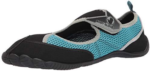 Body Glove Women's Water Shoe, Black/Oasis Blue, 7 M US