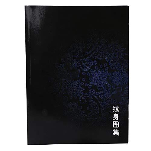 60 Seiten Exquisite Pattern Tattoo Book Liner Shader Bild Tattoo Vorlage Buch Tattoo Bilder Buch