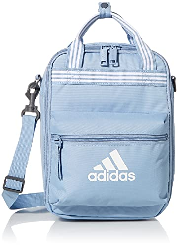 adidas Squad Insulated Lunch Bag, Mochila para el almuerzo Unisex, Ambient Sky Blue/White, Talla única