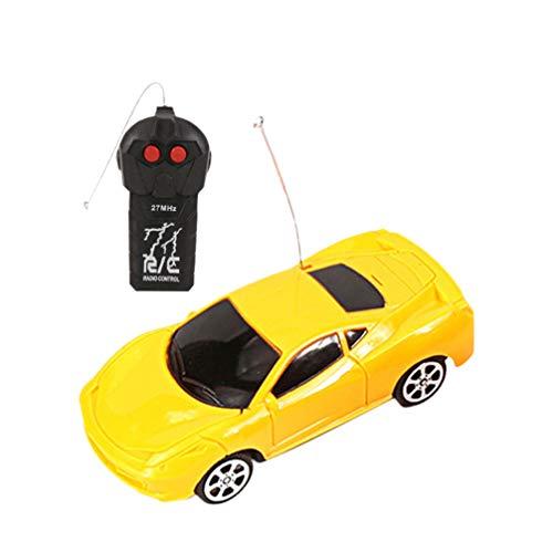 NUOBESTY 2 Pezzi di Telecomando per Auto da Corsa Giocattolo Fai da Te Ricaricabile Rc Costruzione di Veicoli Giocattoli Modello di Auto per Regali di Compleanno per Bambini
