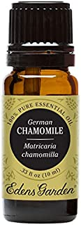 Edens Garden Chamomile German Essential Oil, 100% Pure Therapeutic Grade (Highest Quality Aromatherapy Oils- Allergies & Skin Care), 10 ml