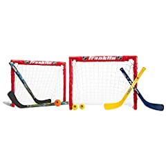 Learn to play: The franklin future champs nhl kids hockey set is perfect for teaching your little athletes how to play the sport for the first time Easy assembly: Our insta set easy fold corner joints fold & lock into place to easily assemble or brea...