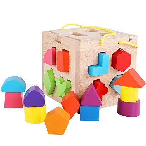GG-kids toys Jouets pour Enfants 1-3 Ans vivifiant Nourrissons et Jeunes Enfants Illumination éducation précoce Construction en Bois