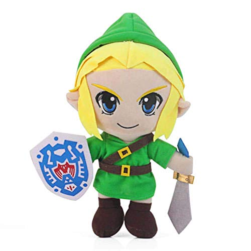 "The Legend Zelda Breath the Wild Link Plush Toy Soft Doll New 12"" LATT LIV"